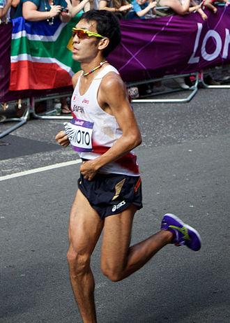 男子マラソンロンドン五輪出場 山本亮選手(Wikipediaより)